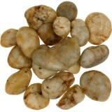 Kamyczki rzeczne naturalny krem 3-5cm 1kg